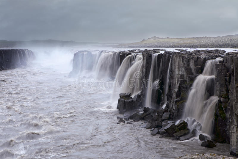 Водопад, Исландия стоковые изображения