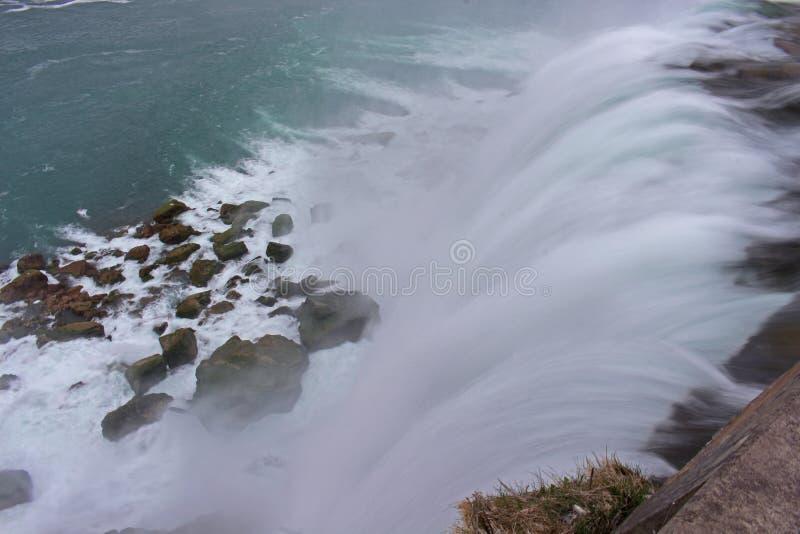 Водопад Ниагарского Водопада стоковое изображение rf
