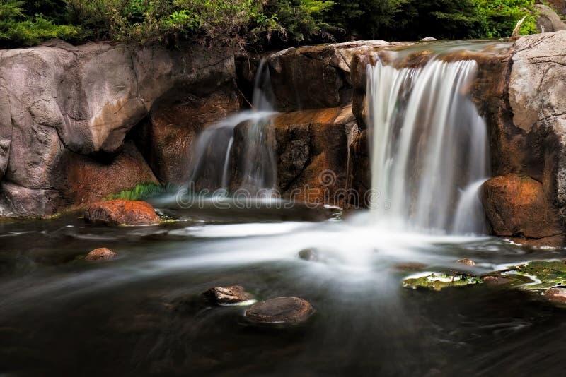 водопад озера katherine стоковое изображение
