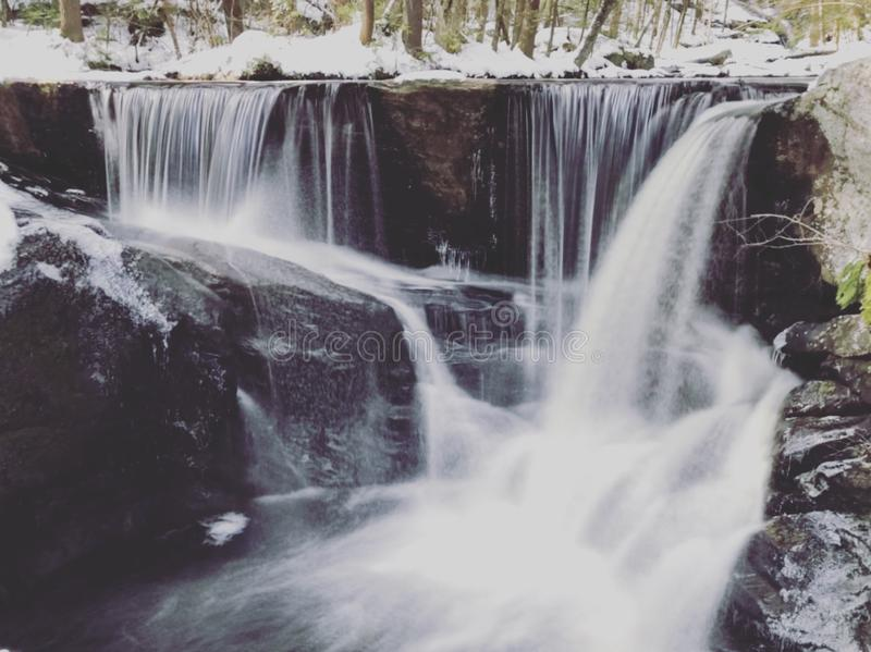 Водопад парка штата Enders стоковое фото