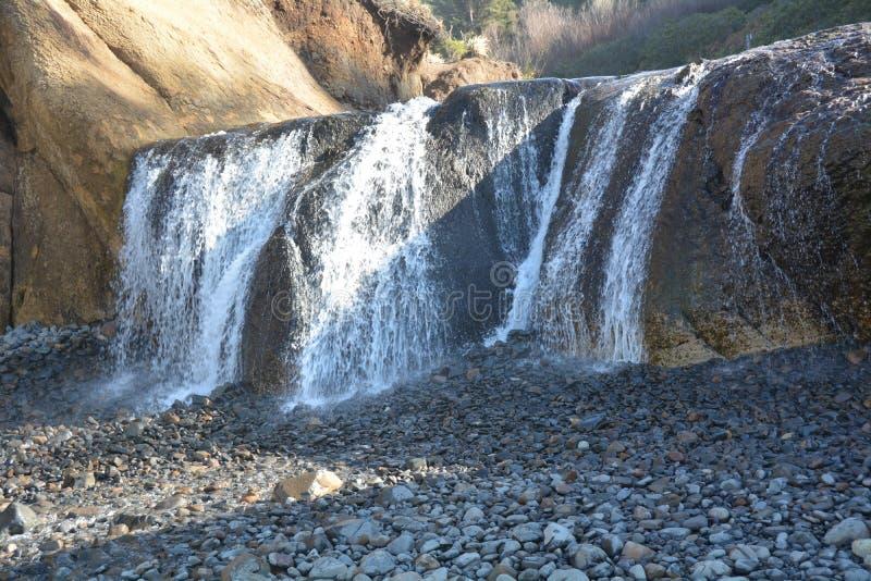 Водопад пункта объятия, Орегона стоковые фотографии rf