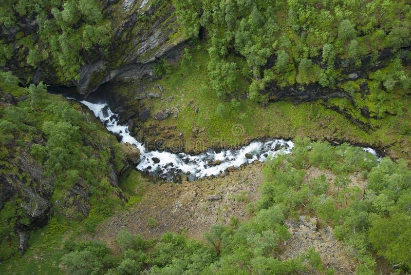 Водопад реки стоковое фото rf