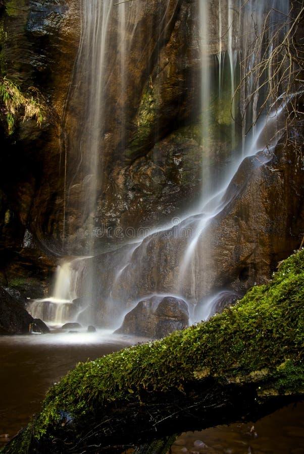 водопад трассы linn стоковая фотография