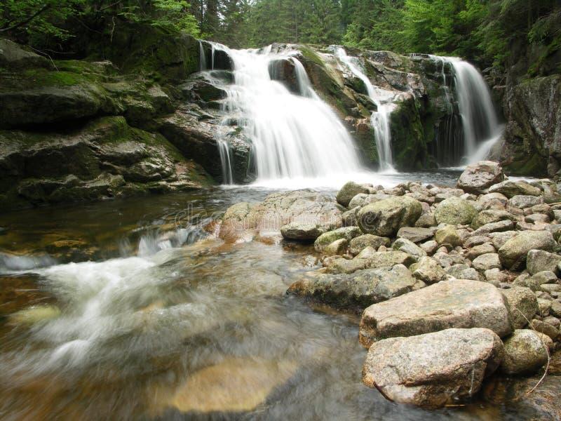 водопад elbe малый стоковое фото rf