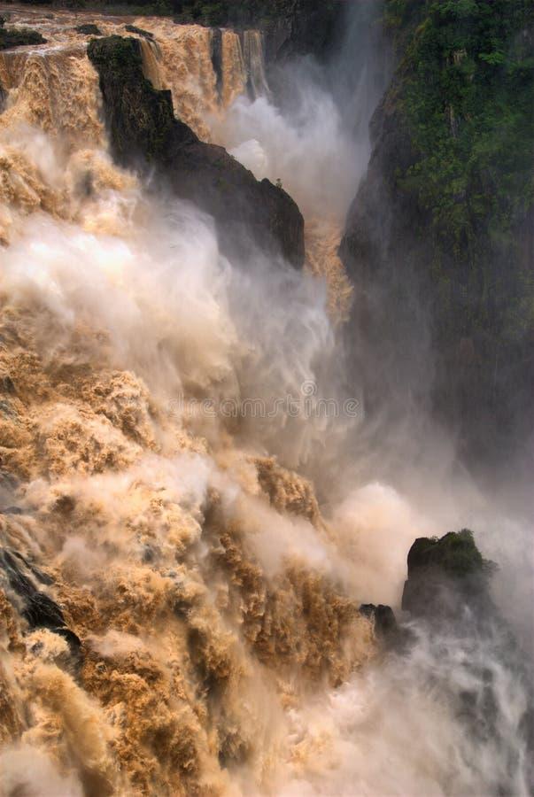 Водопад Gorge Barron стоковое изображение rf