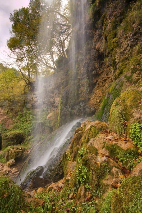 водопад gostilje стоковая фотография