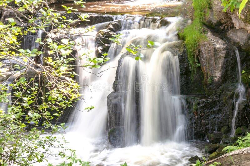 Водопад Hallamolla стоковое фото