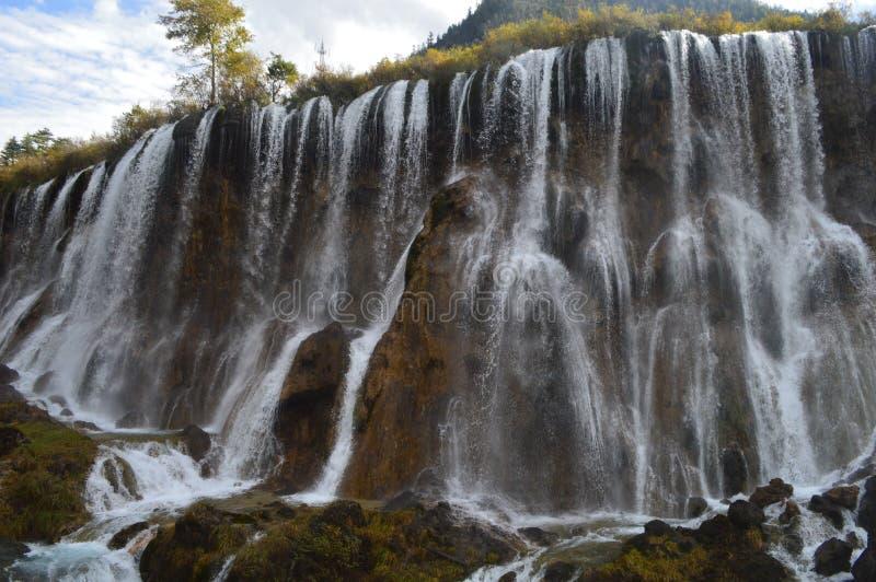 Водопад Huangguoshu, Китай стоковое фото