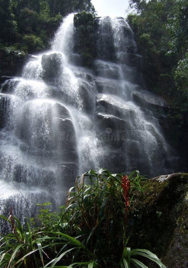 водопад itatiaia стоковые изображения rf