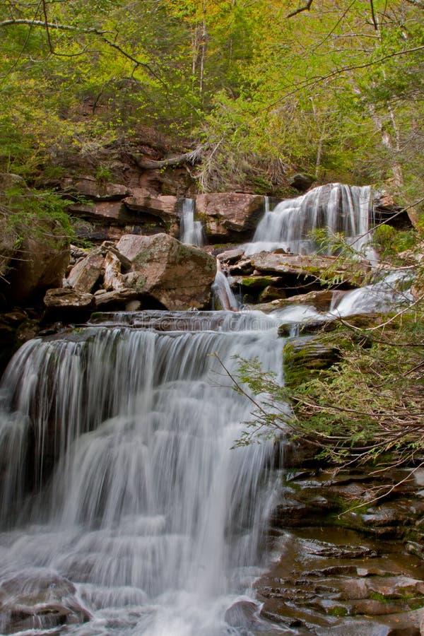 водопад kaaterskill стоковое фото