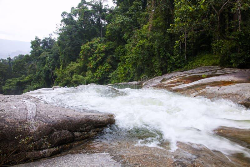 Водопад Karom одна из привлекательностей thammara Nakhon SI стоковые фото