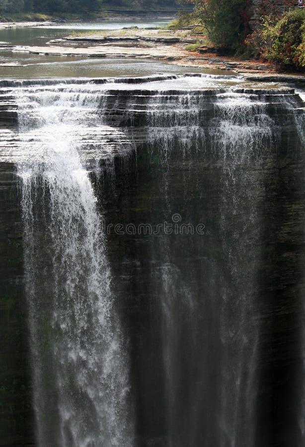 водопад letchworth стоковое фото