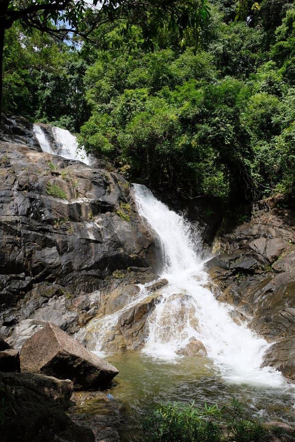 Водопад Lumpee в Souther Таиланде стоковое изображение