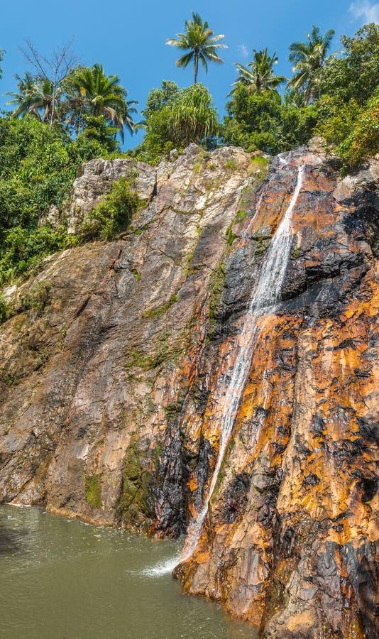 Водопад Namuang острова Таиланда Samui Koh стоковая фотография