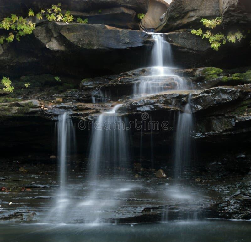 водопад ozark стоковые изображения rf