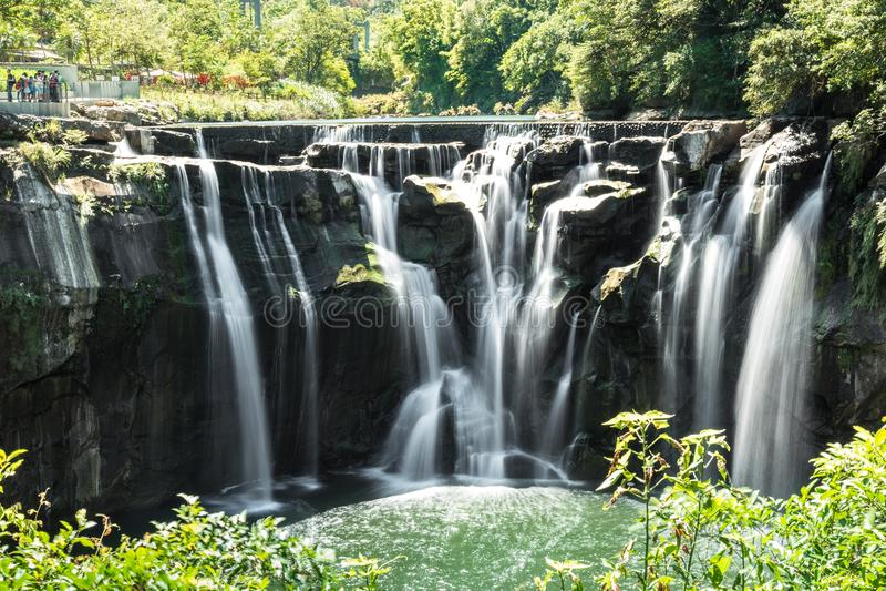 Водопад Shifan в Тайбэе стоковое изображение