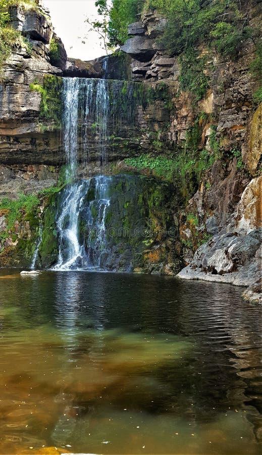 Водопад Thornton Англия стоковое фото