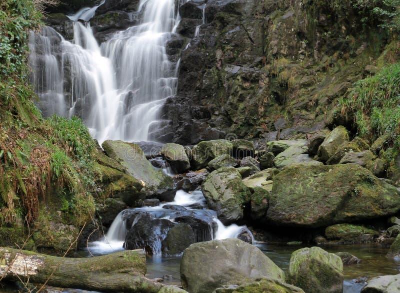 водопад Torc Ирландии Стоковое фото RF