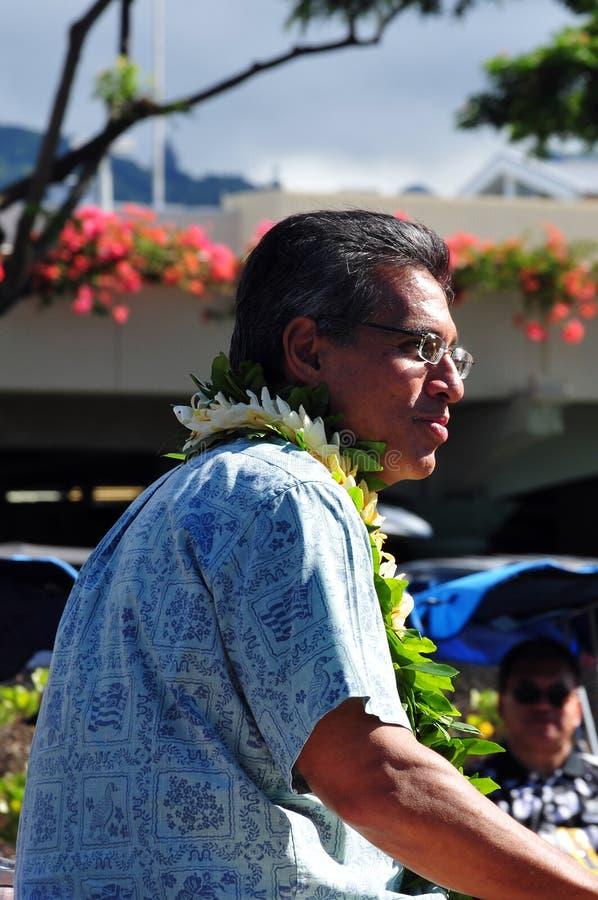 воевод Гавайские островы duke aiona стоковая фотография