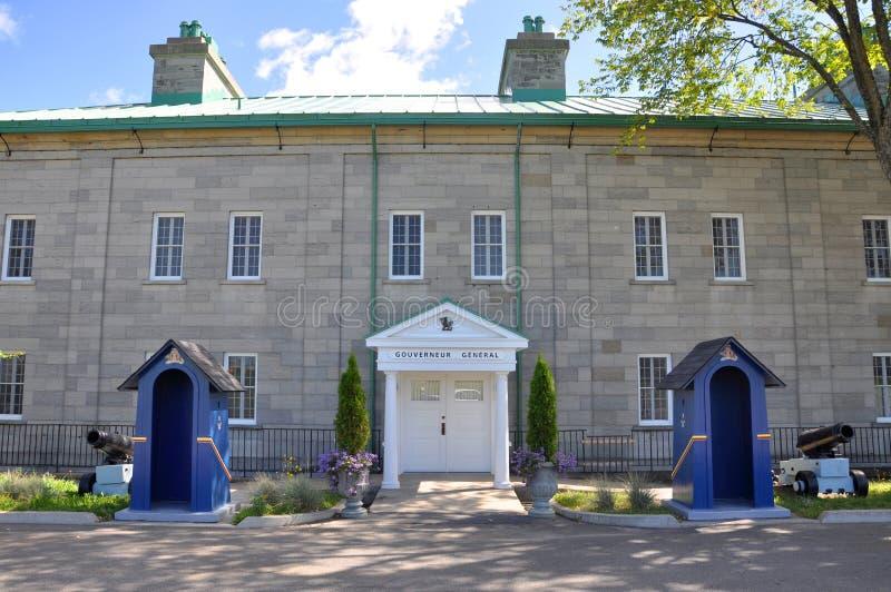 Ла Citadelle Квебека, Квебека (город) стоковое фото