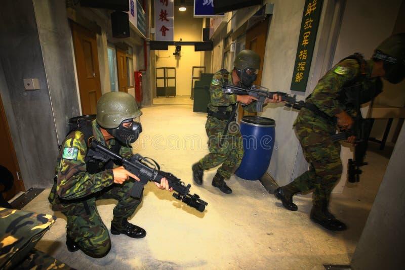 военная подготовка стоковое изображение rf