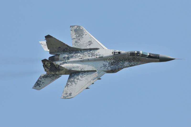 Военновоздушная сила словака MiG-29AS стоковые изображения