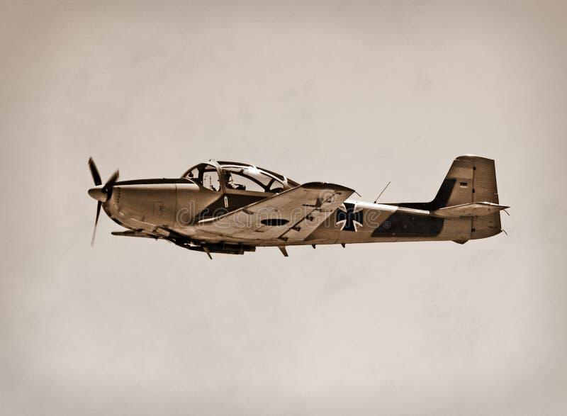 военное время воздушных судн стоковое изображение rf