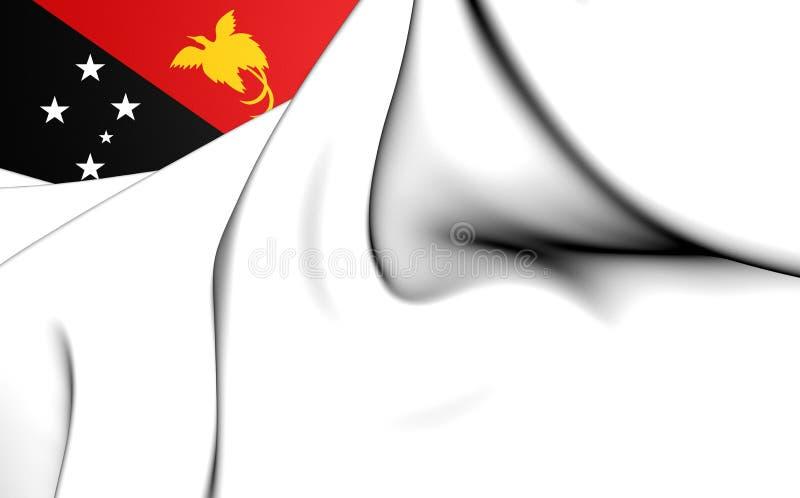Военноморской Ensign Папуаой-Нов Гвинеи иллюстрация штока