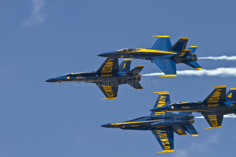 военно-морской флот ангелов голубой мы стоковые фотографии rf