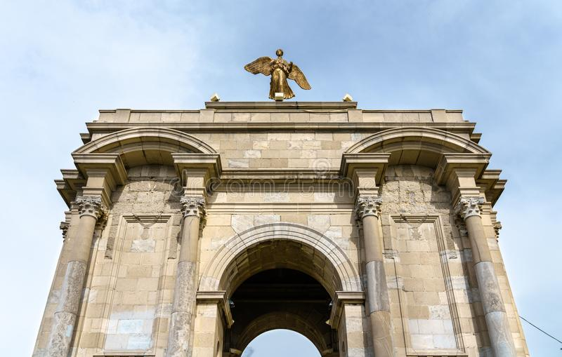 Военный мемориал в Константине, Алжире стоковая фотография