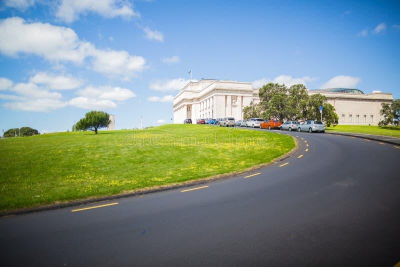 Военный мемориал в Окленде стоковое фото rf