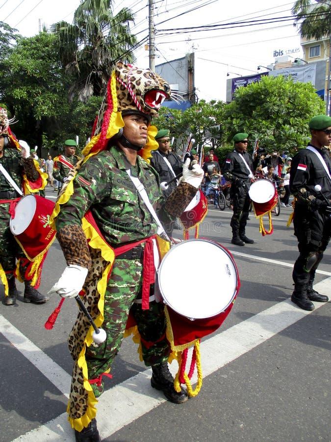 Военный оркестр армии стоковые фотографии rf