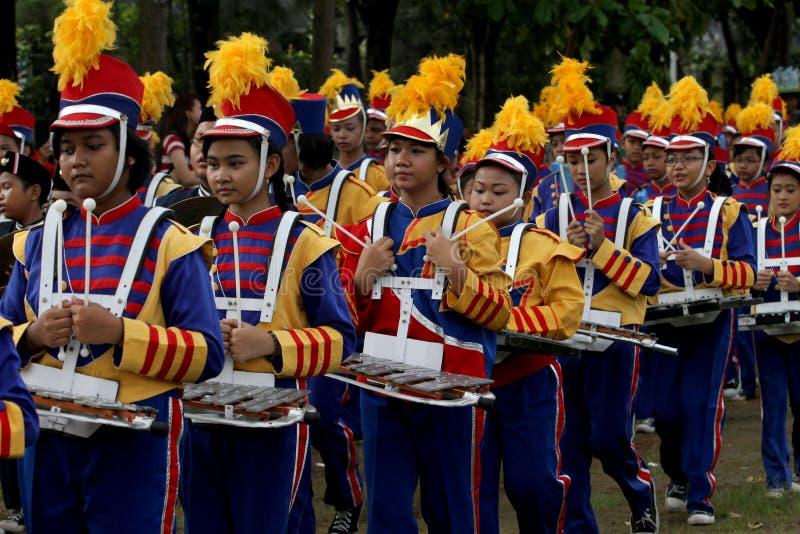 Военный оркестр НОВЫЙ стоковое фото rf