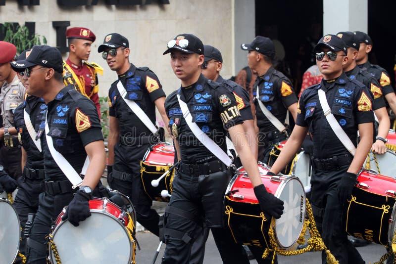 Военный оркестр НОВЫЙ стоковые изображения