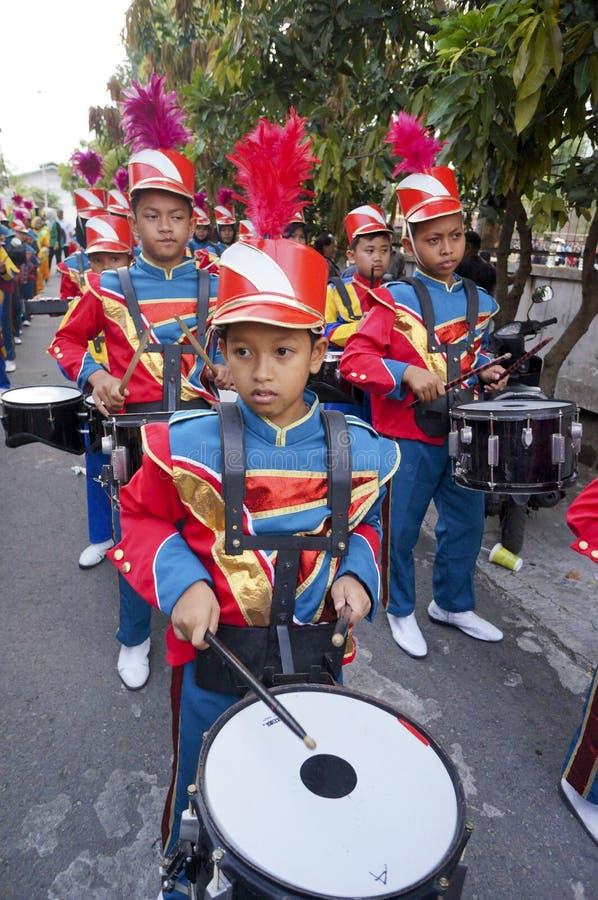 Военный оркестр НОВЫЙ стоковое фото