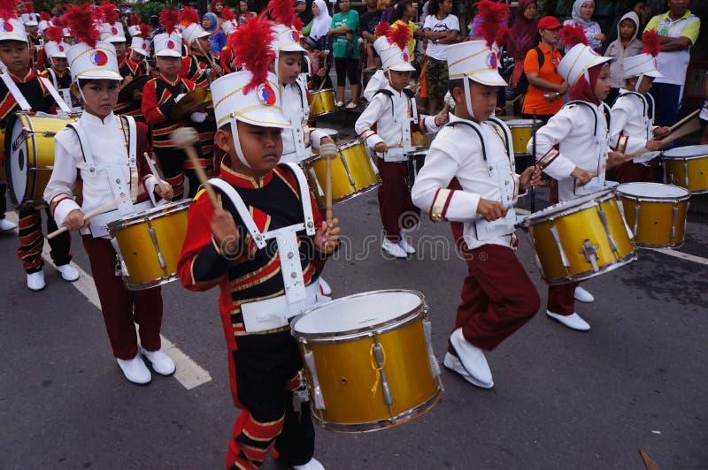 Военный оркестр стоковое изображение rf
