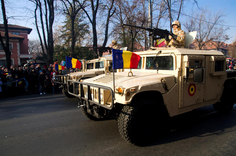 Военный парад Редакционное Стоковое Изображение