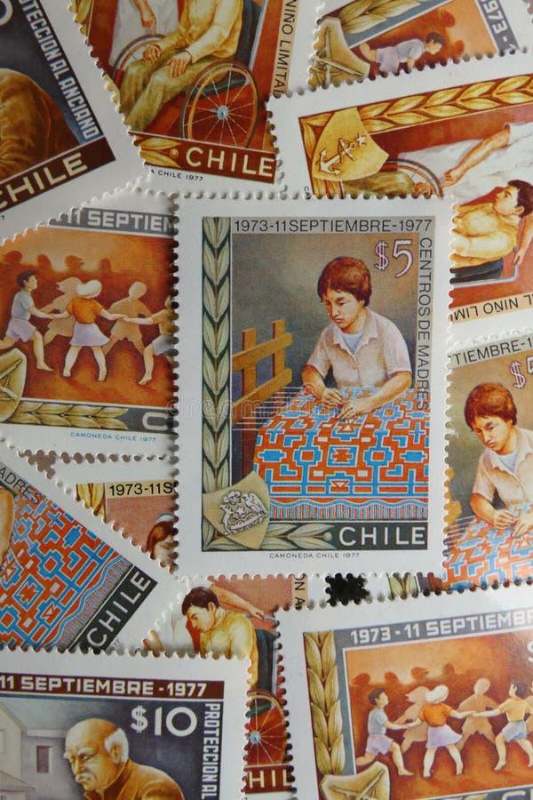 Военный переворот в Чили стоковые фото