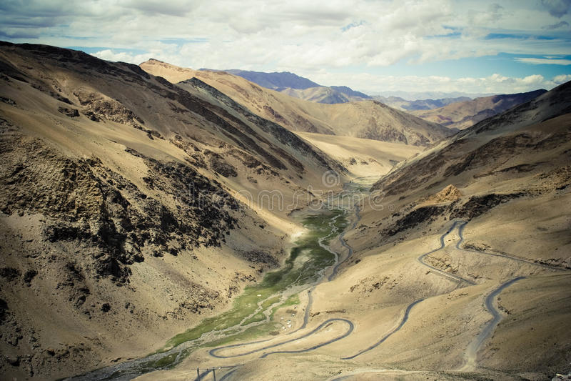 возбуждая Гималаи стоковая фотография