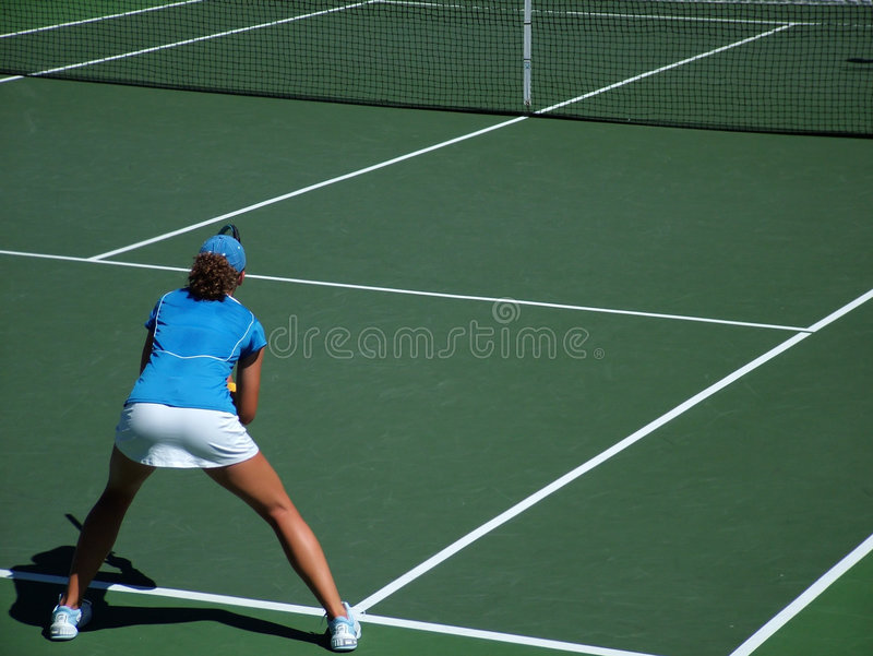 возвращенный теннис стоковое изображение rf