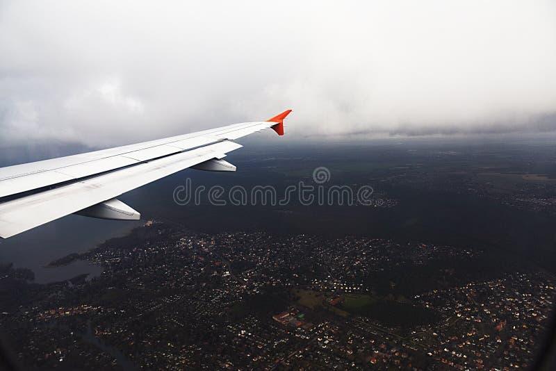 Воздухоплавательное изображение Берлина от взгляда глаза птицы стоковое изображение rf
