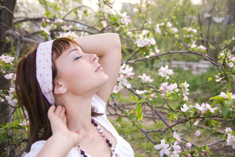 воздух наслаждаясь весной стоковое изображение rf