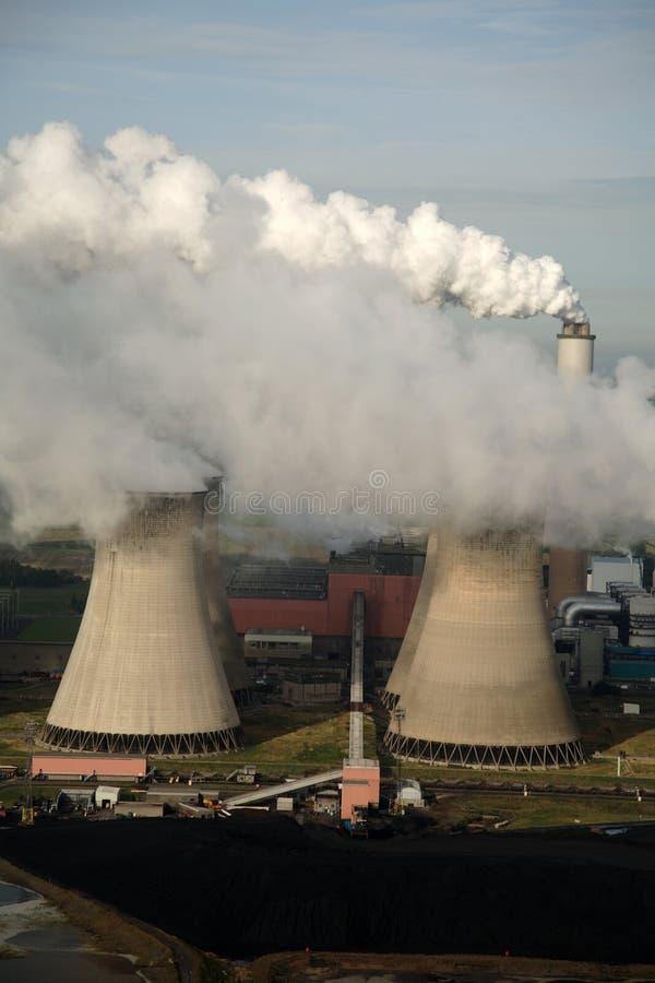 воздушная электростанция стоковое изображение rf
