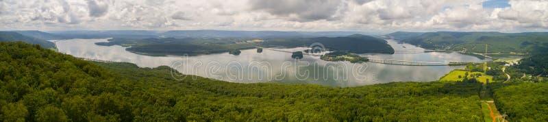 Воздушная яшма Теннесси США панорамы стоковые изображения rf