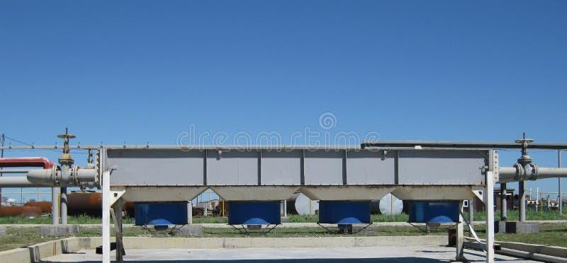 Воздушные охладители бензина и дизеля стоковое изображение rf