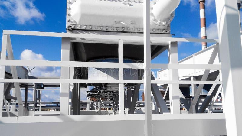 Воздушные охладители бензина стоковые фото