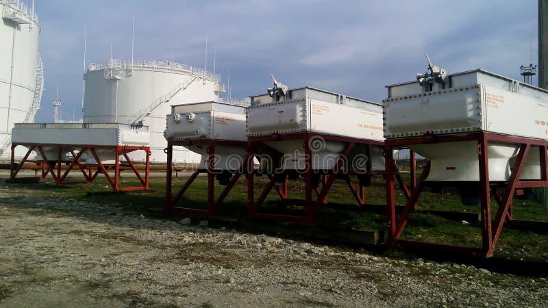 Воздушные охладители бензина стоковое фото