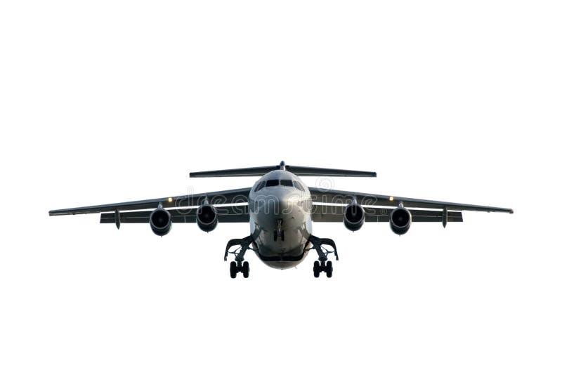 воздушные судн входящие стоковое фото rf