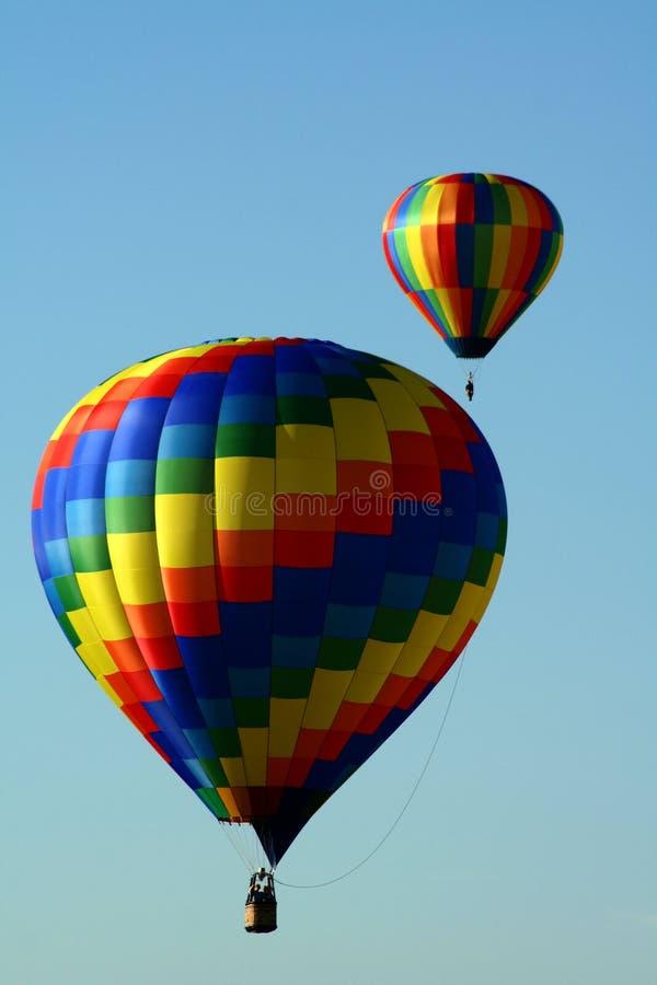 воздушные шары горячие 2 стоковая фотография