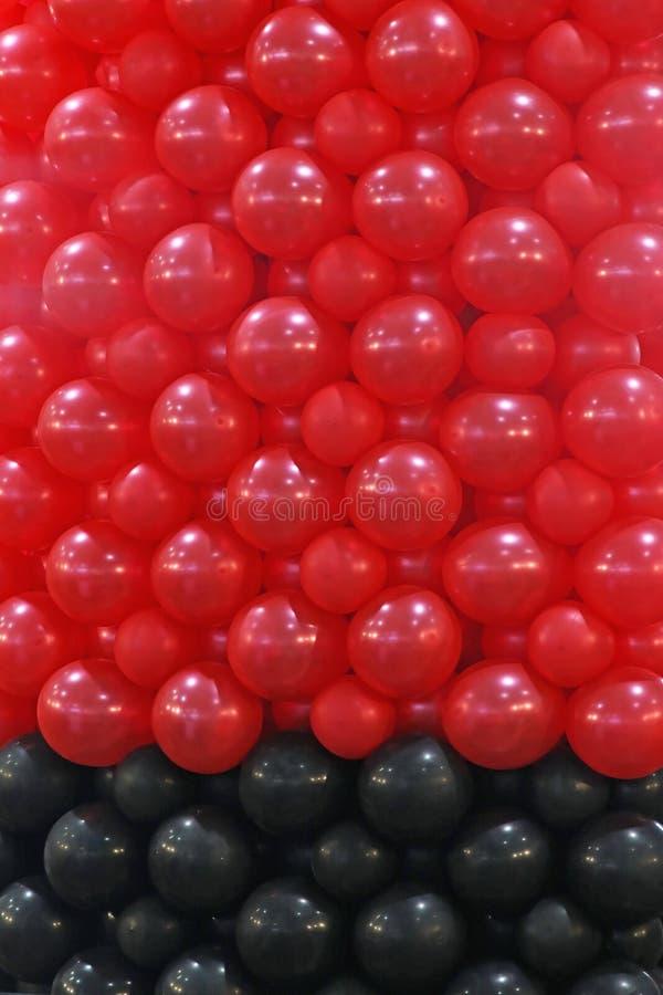 Воздушные шары латекса стоковые фото